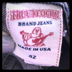 Gently used True Religion jeans